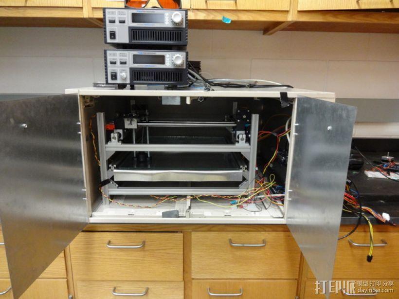 激光焊机器 3D打印模型渲染图