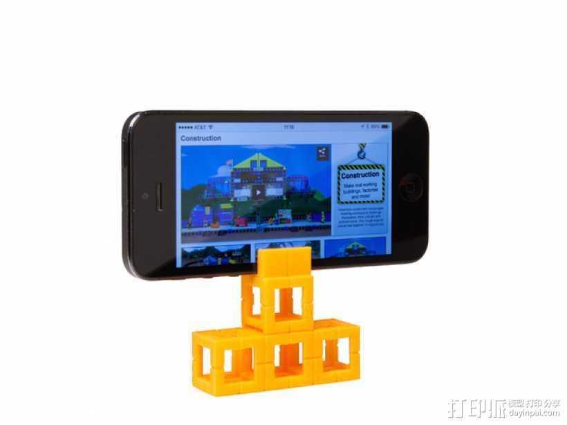 智能手机支座 3D打印模型渲染图