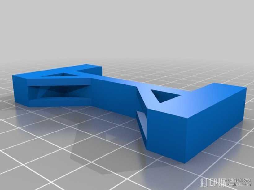 桥 模型 3D打印模型渲染图