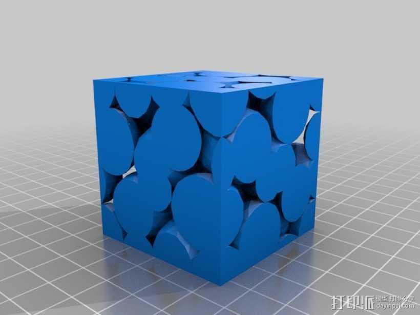晶胞模型 3D打印模型渲染图