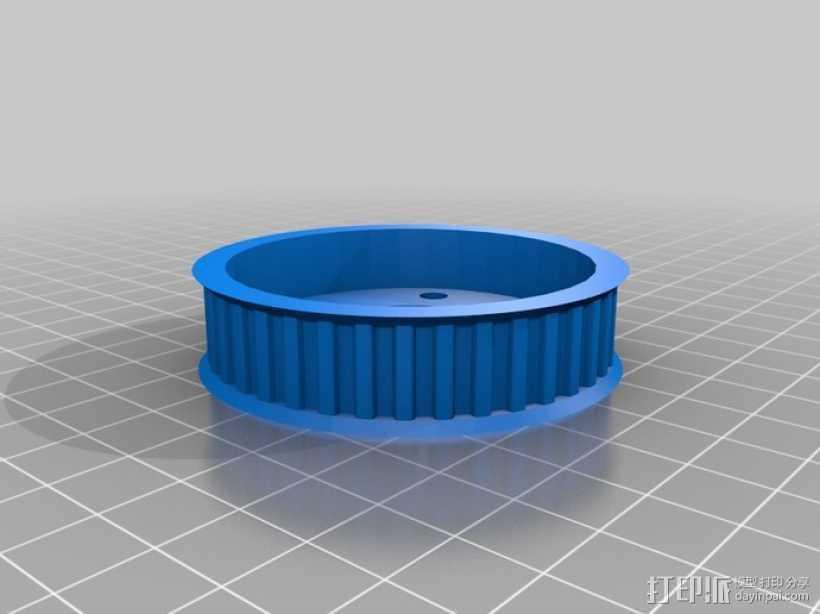 盘毂 3D打印模型渲染图