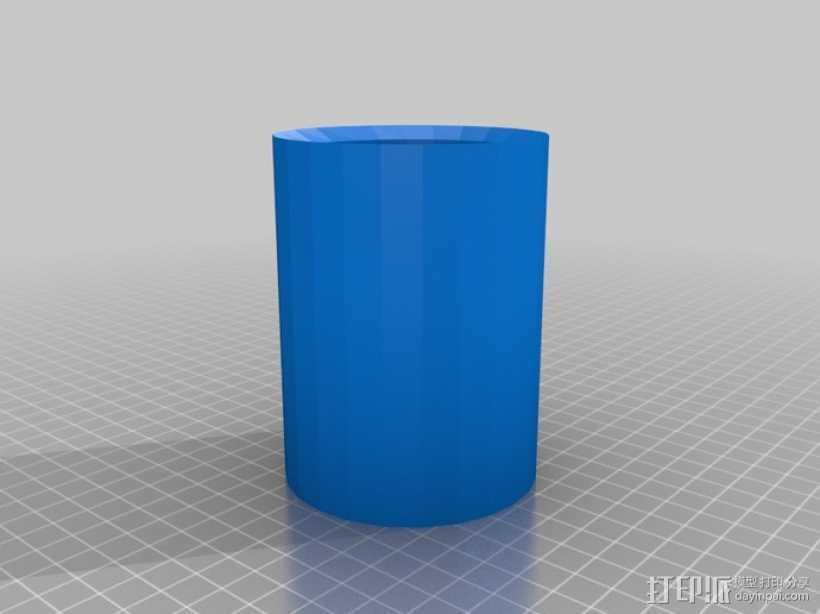 放射性样品盒 3D打印模型渲染图