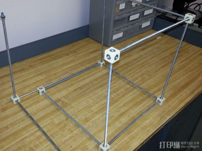 螺杆连接器  3D打印模型渲染图