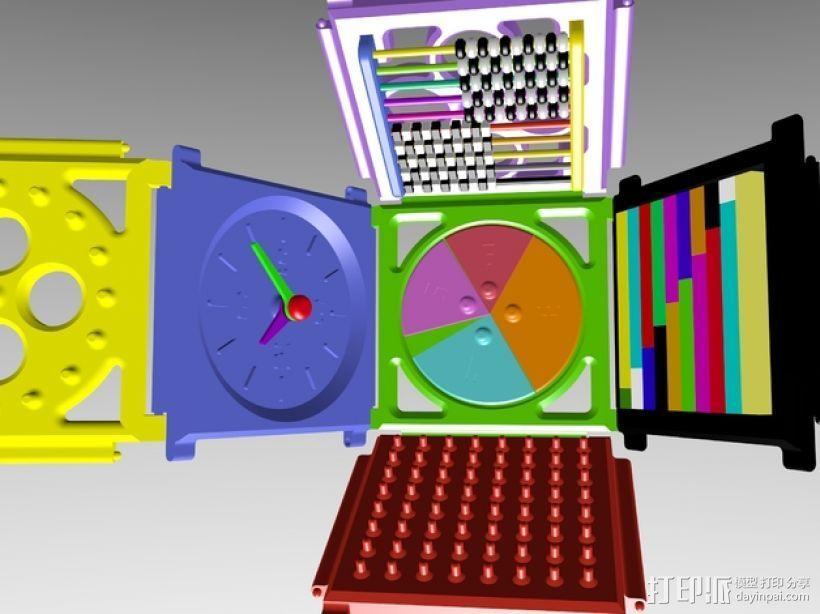 数学学习工具 3D打印模型渲染图