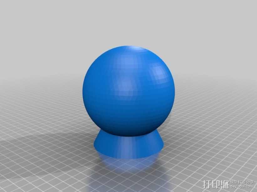 纳米俄罗斯套娃模型 3D打印模型渲染图