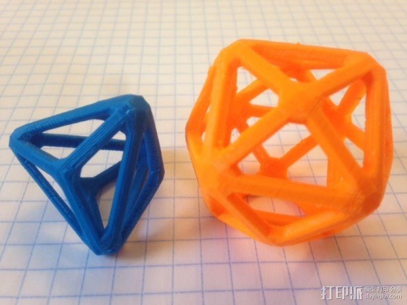 卡塔兰立体 3D打印模型渲染图