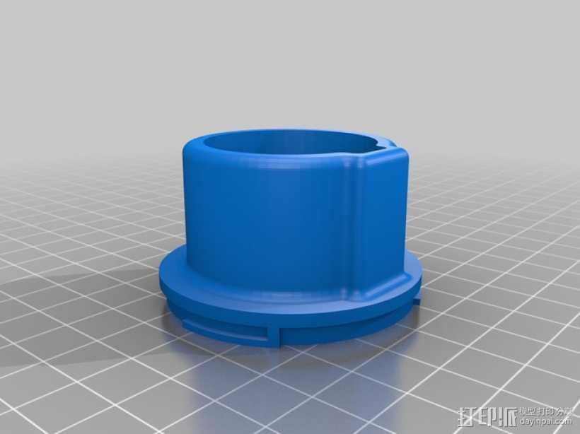 佳能EOS相机聚焦环 3D打印模型渲染图
