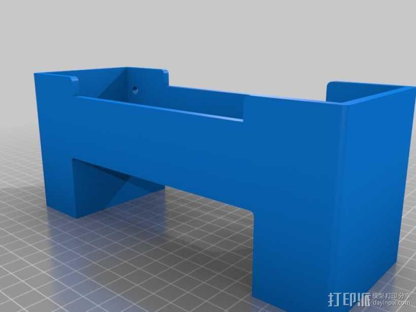 电泳槽 3D打印模型渲染图
