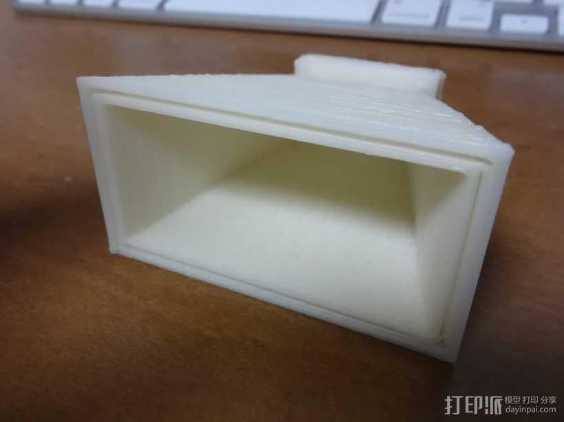 微波号角天线 3D打印模型渲染图