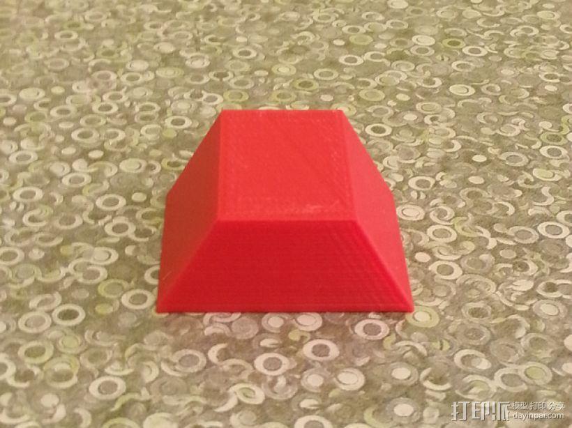 梯形棱台 3D打印模型渲染图