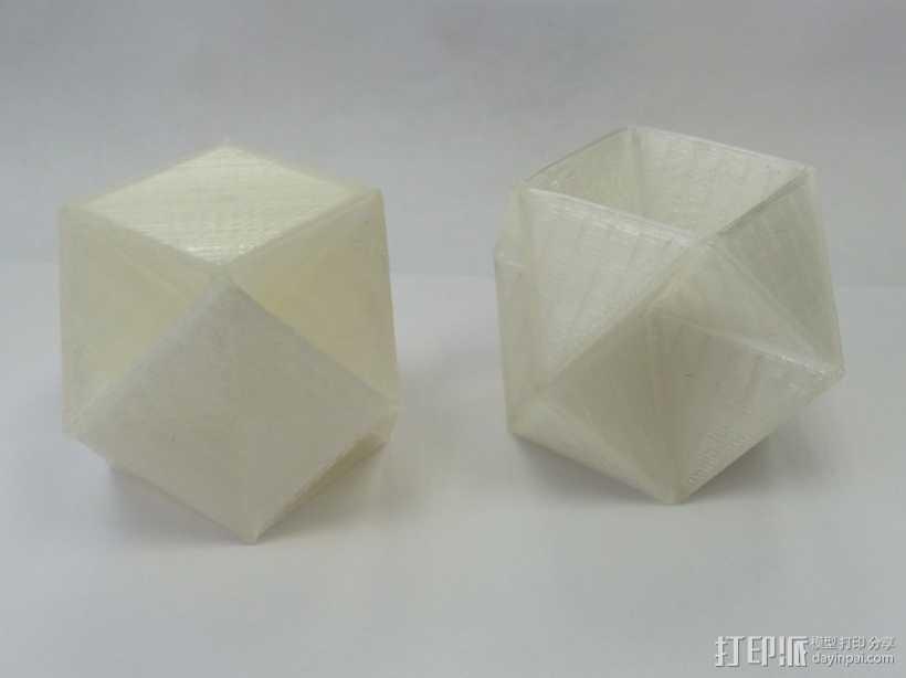 多面体 几何体 3D打印模型渲染图