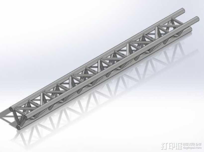 桁架 3D打印模型渲染图