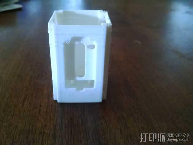 电子设备舱 盒子 3D打印模型渲染图