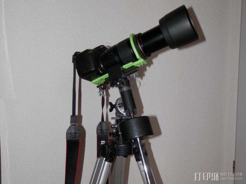 单眼数位相机相机架 3D打印模型渲染图