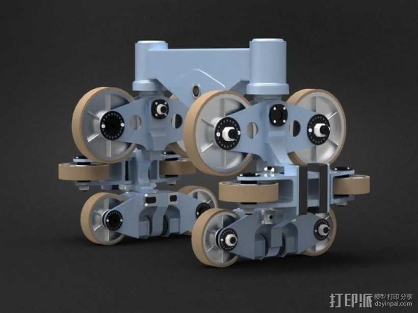 过山车车厢模型 3D打印模型渲染图