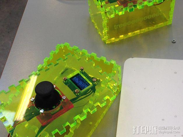 控制箱 控制器机箱 3D打印模型渲染图