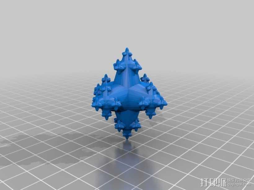 立方分形模型 3D打印模型渲染图