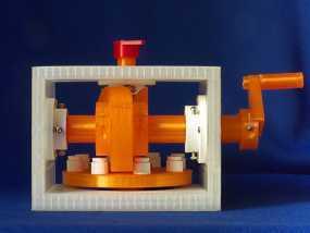 蜗形凹轮分度箱