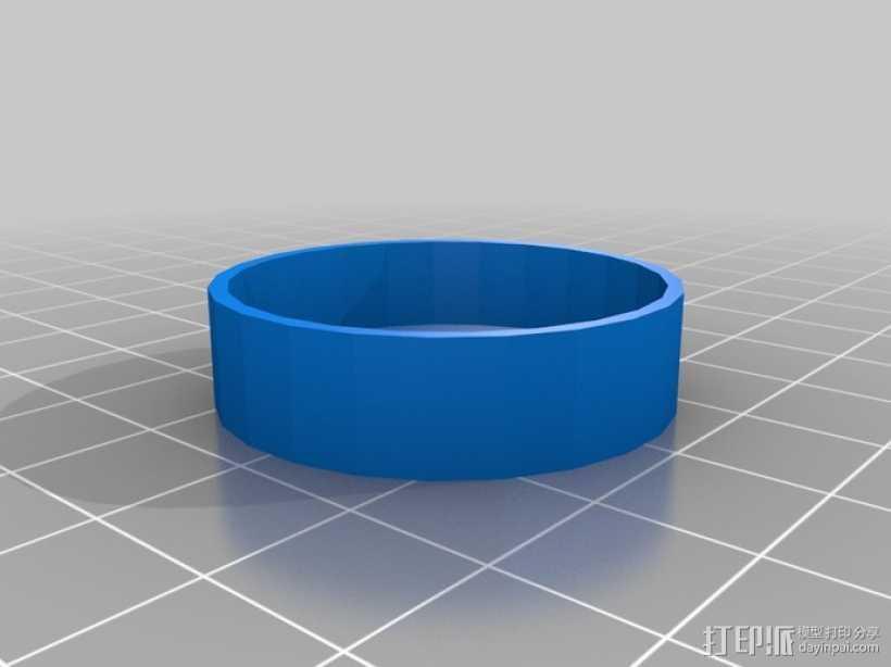 望远镜防尘罩 3D打印模型渲染图