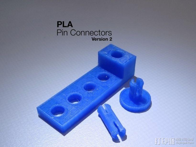 梢钉接头 3D打印模型渲染图