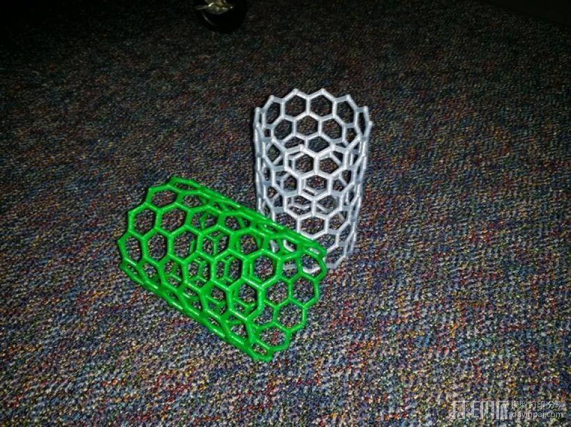 碳纳米管结构模型 3D打印模型渲染图