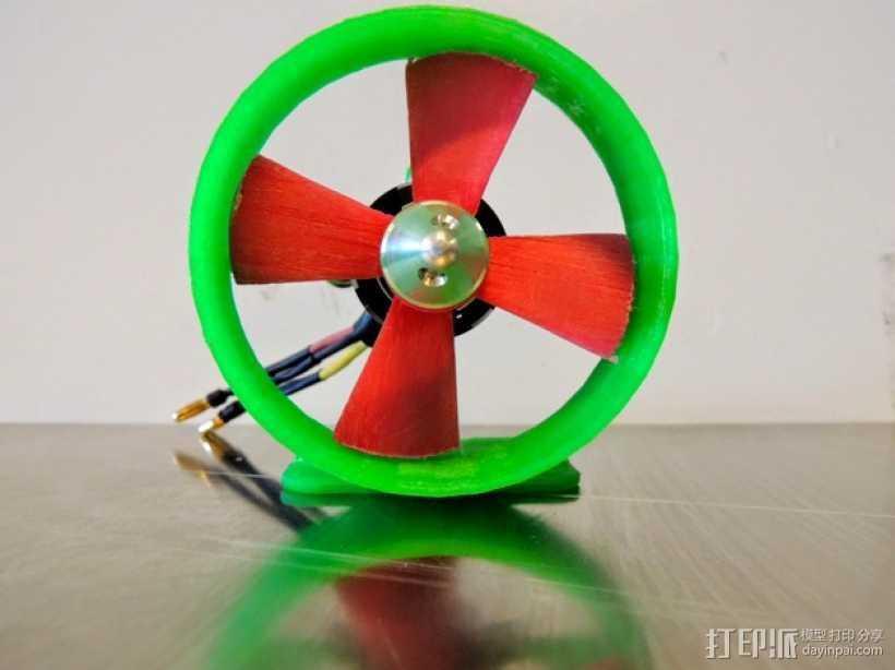 螺旋桨 螺旋桨推进器 3D打印模型渲染图