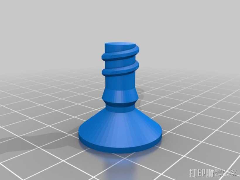 文具用品 3D打印模型渲染图