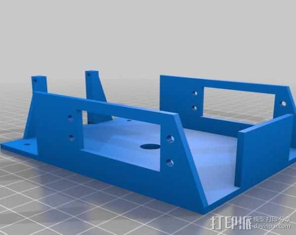 boe替换底架 底盘 3D打印模型渲染图