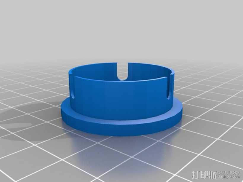 望远镜防尘帽 防尘盖 3D打印模型渲染图
