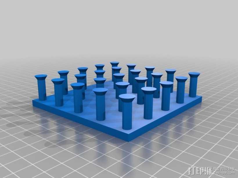 几何板 教学工具 3D打印模型渲染图