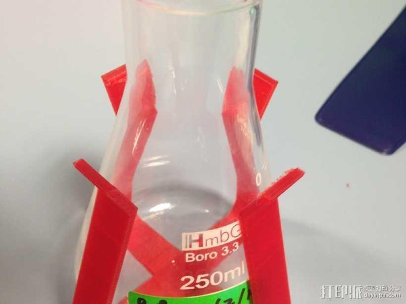 烧瓶架 3D打印模型渲染图