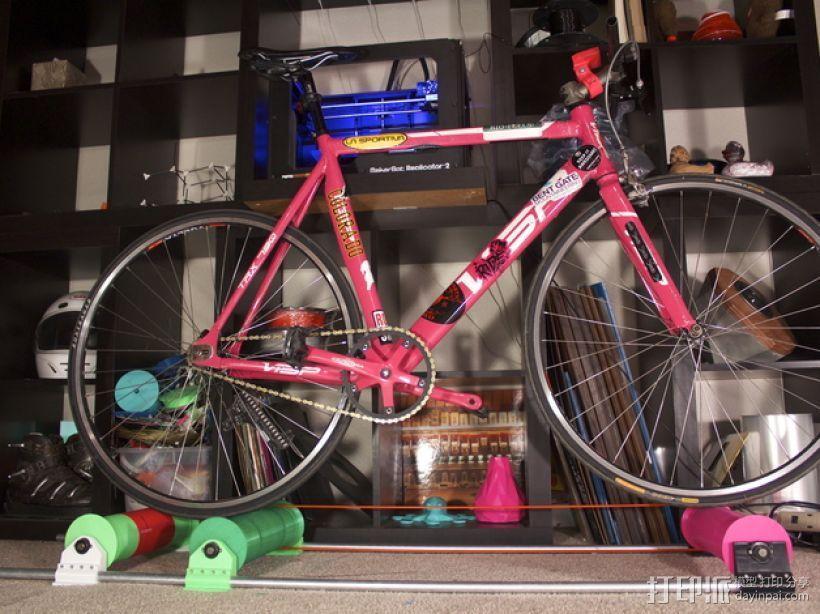 自行车辊 3D打印模型渲染图