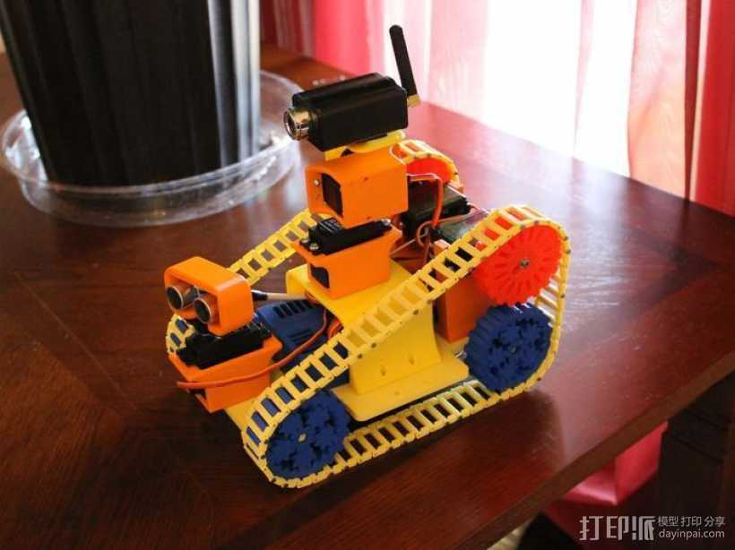 EZ机器人 3D打印模型渲染图
