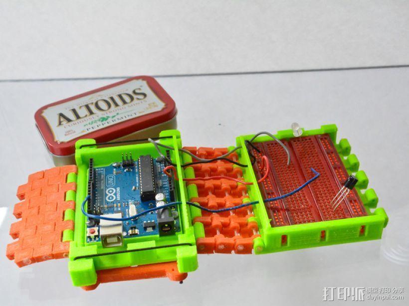 开源Arduino控制面板3.0  3D打印模型渲染图