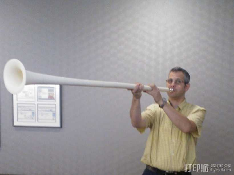 喇叭 3D打印模型渲染图