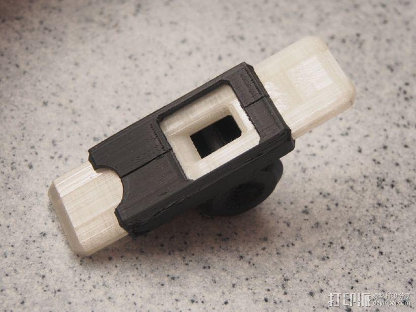 口哨 3D打印模型渲染图