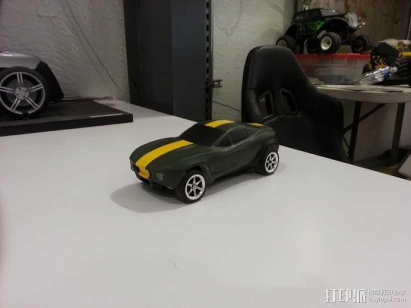 Rally Fighter车身 3D打印模型渲染图