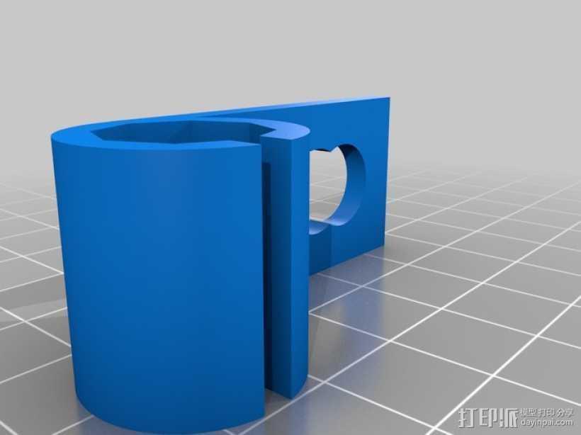 吉他把手 3D打印模型渲染图