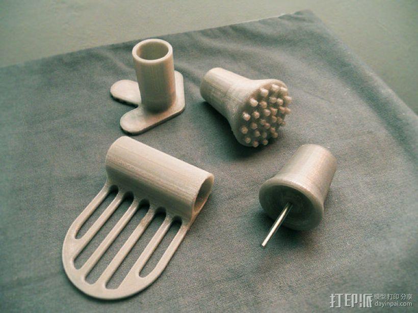 mino工具配件 3D打印模型渲染图