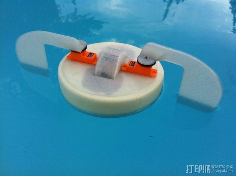 水波振荡器 3D打印模型渲染图