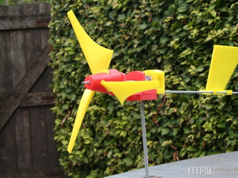 迷你直升飞机 3D打印模型渲染图