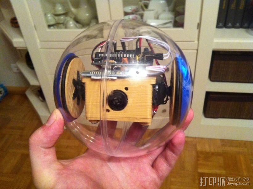 迷你SkyBOT机器人 3D打印模型渲染图