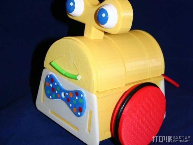 Tyree机器人 3D打印模型渲染图