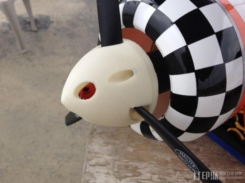 遥控飞机螺旋桨整流罩 3D打印模型渲染图