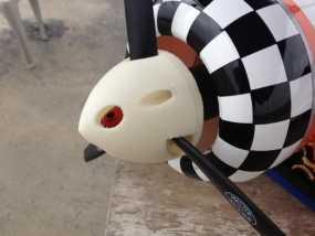 遥控飞机螺旋桨整流罩