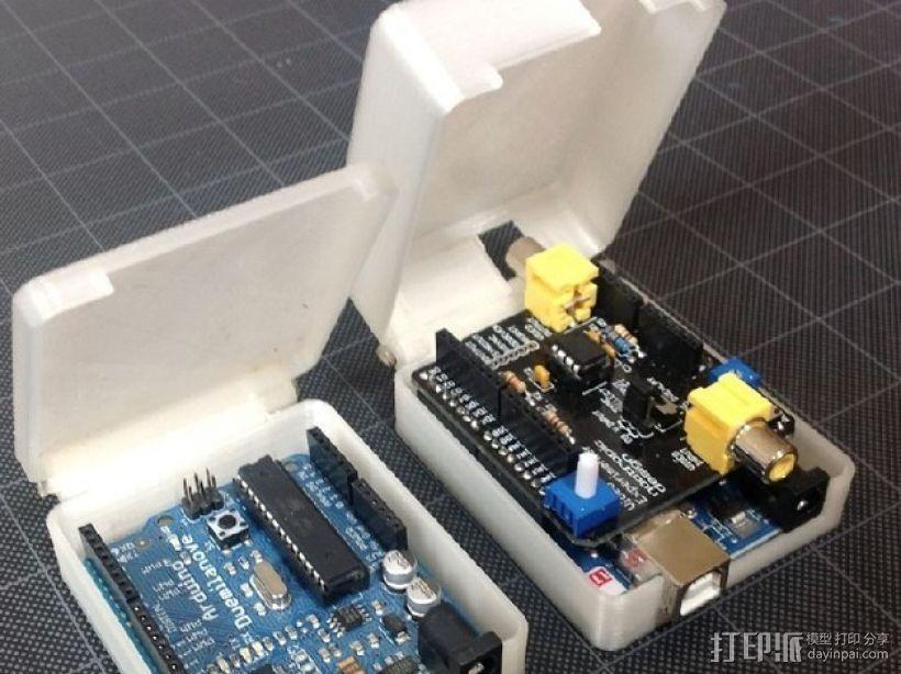Arduino保护盒 3D打印模型渲染图