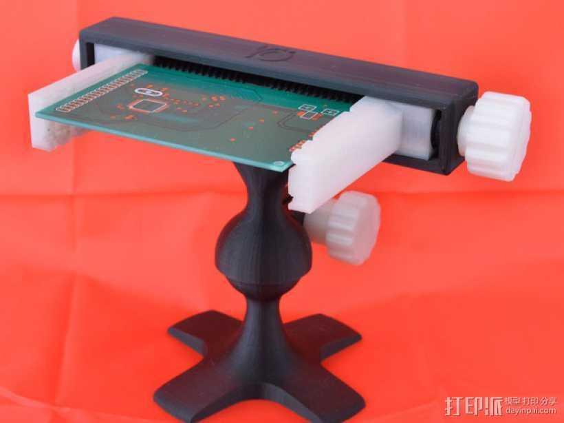PCB台虎钳 3D打印模型渲染图