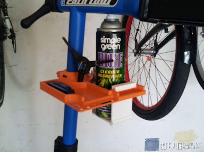 自行车工具架 3D打印模型渲染图