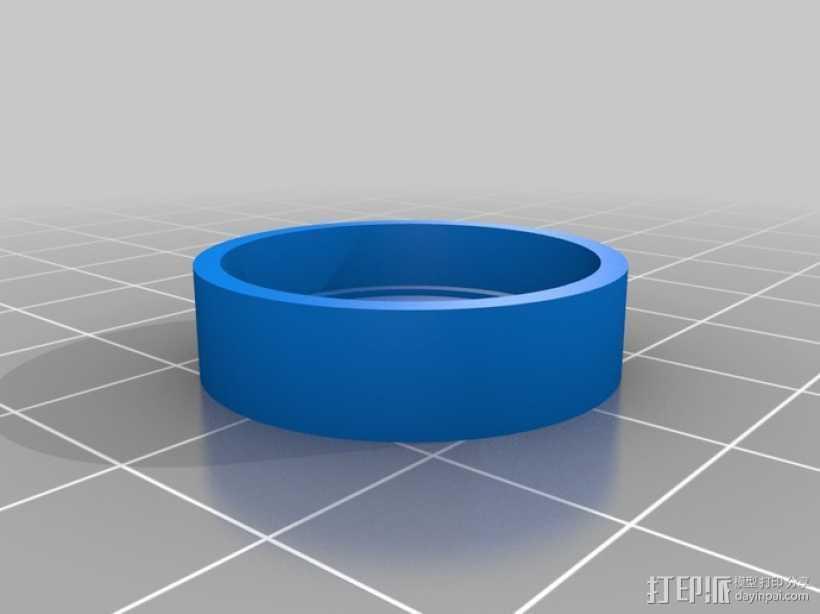 卡祖笛 3D打印模型渲染图