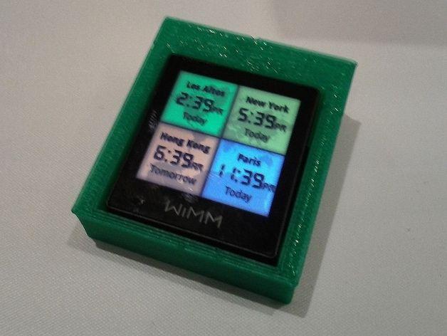 简易WIMM One桌型盒 3D打印模型渲染图